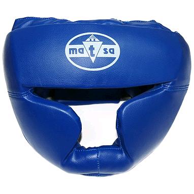 Шлем тренировочный Matsa PVC синий