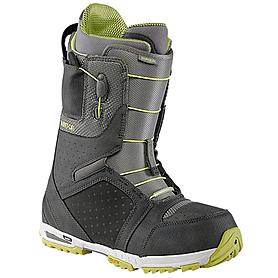 Фото 1 к товару Ботинки для сноубординга мужские универсальные Burton Imperial 2014 цвет серый/лайм