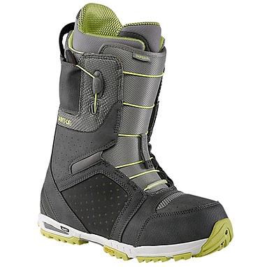 Ботинки для сноубординга мужские универсальные Burton Imperial 2014 цвет серый/лайм