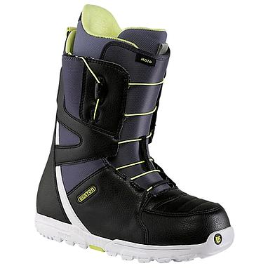 Ботинки для сноубординга мужские универсальные Burton Moto 2014 цвет черный/синий
