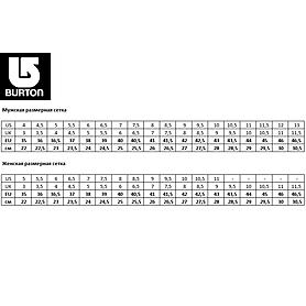 Фото 4 к товару Ботинки для фристайла женские Burton Emerald 2014 цвет черный/белый