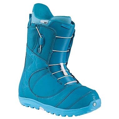 Ботинки для фристайла женские Burton Mint 2014 цвет голубой