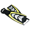 Ласты с открытой пяткой Dorfin PL-433 желтые, размер - 36-39 - фото 1