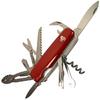 Нож швейцарский Ego Tools A01.12 красный - фото 1