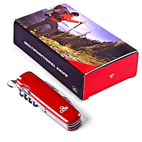 Фото 6 к товару Нож швейцарский Ego Tools A01.8