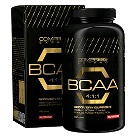 Фото 1 к товару Аминокомплекс Nutrend Compress BCAA 4:1:1 (100 таблеток)