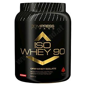 Фото 1 к товару Протеин Nutrend Compress Iso Whey 90 (1 кг)