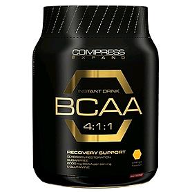 Фото 1 к товару Аминокомплекс Nutrend Compress BCAA Instant Drink (500 г)