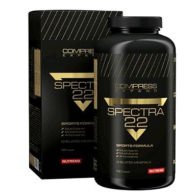 Комплекс витаминов и минералов Nutrend Compress Spectra 22 (180 капс)