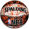 Мяч баскетбольный Spalding NBA Graffiti - фото 1
