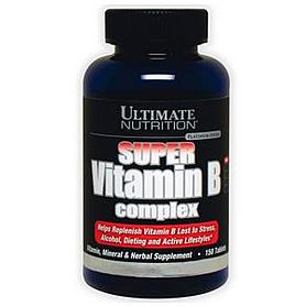 Фото 1 к товару Витамины группы В Ultimate Nutrition Vitamin B-complex (100 таблеток)