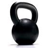 Гиря чугунная 25 кг York (черная) - фото 1