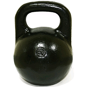 Гиря чугунная 24 кг (черная)