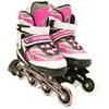 Коньки роликовые раздвижные ZEL Z-5102 розовые - фото 2