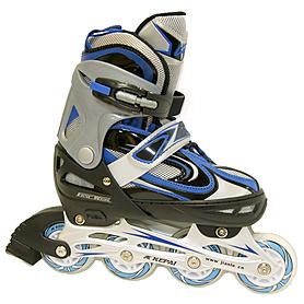 Коньки роликовые раздвижные Kepai F1-V1 синие