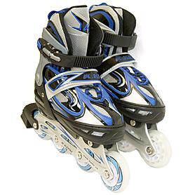 Фото 2 к товару Коньки роликовые раздвижные Kepai F1-V1 синие