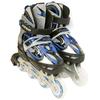 Коньки роликовые раздвижные Kepai F1-V1 синие - фото 2
