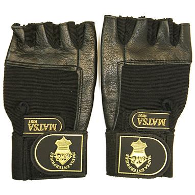 Перчатки с напульсником (кожа) Matsa Rist