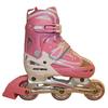 Коньки роликовые раздвижные Kepai F1-V1 розовые - фото 1