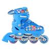 Коньки роликовые раздвижные Profi Roller A4051-M синие - фото 1