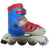 Коньки роликовые раздвижные Kepai SK-320BL сине-красно-серые - фото 1