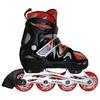 Коньки роликовые раздвижные Kepai F1-K09 красные - фото 1