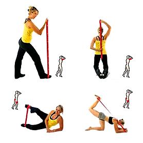 Фото 3 к товару Эспандер для фитнеса Elastiband (20 кг) Sveltus