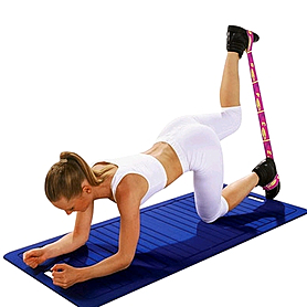 Фото 2 к товару Эспандер для фитнеса Elastiband (10 кг) Sveltus