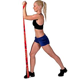 Фото 3 к товару Эспандер для фитнеса Maxi Elastiband 10 кг (110 см) Sveltus