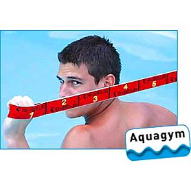 Фото 4 к товару Эспандер для фитнеса Maxi Elastiband 10 кг (110 см) Sveltus