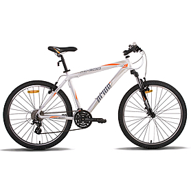 """Велосипед горный Pride XC-300 26"""" бело-оранжевый (модель 2014 года)"""