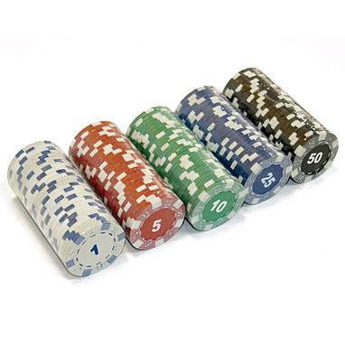 Фишки для покера, 25 шт.