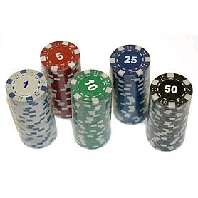 Фото 2 к товару Фишки для покера, 25 шт.