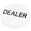 Фишка дилера для покера белая - фото 1