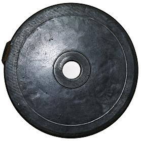 Фото 3 к товару Диск обрезиненный 20 кг, диаметр - 52 мм - уцененный*