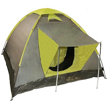 Палатка трехместная Mountain Outdoor Set (ZLT) 200х200х135 см хаки