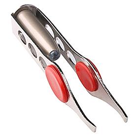 Фото 5 к товару Пинцет с подсветкой Flashlight LED eyebrow Tweezers Bradex