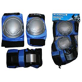 Защита для катания на роликах и скейте Kepai LP-302 синяя