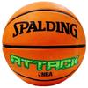 Мяч баскетбольный резиновый Spalding Attack - фото 1