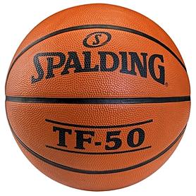 Мяч баскетбольный резиновый Spalding TF-50