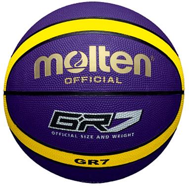 Мяч баскетбольный резиновый Molten BGR7-VY