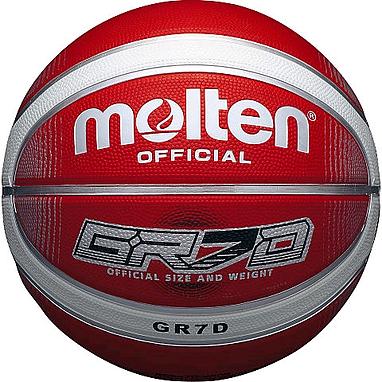 Мяч баскетбольный резиновый Molten BGRX7D-WRW