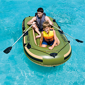 Лодка надувная Лодка Bestway Voyager 300