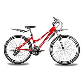 Фото 1 к товару Велосипед горный Premier Rodeo 26'' красный с черно-белым рама 15