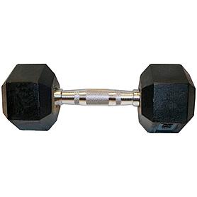 Гантель профессиональная шестигранная 17,5 кг