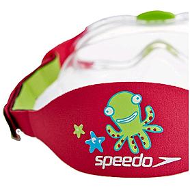 Фото 2 к товару Очки для плавания детские Speedo Sea Squad Mask Ju Blue/Green