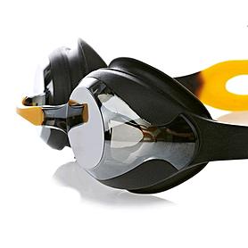 Фото 1 к товару Очки для плавания Speedo Merit Mir Gog Au Black/Smoke