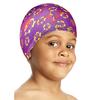 Шапочка для плавания детская Speedo Sea Squad Poly Cap Ju Assorted фиолетовая - фото 1