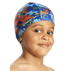 Шапочка для плавания детская Speedo Sea Squad Poly Cap Ju Assorted синяя - фото 1