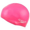 Шапочка для плавания детская Speedo  Moulded Silicone Cap Ju  Pink - фото 1